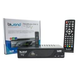 Decodificador DVB-T2 TDT FullHD Biwond
