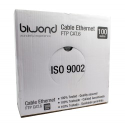 Bobina FTP CAT6 100m BIWOND