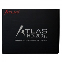 Receptor satélite Atlas HD-200SE