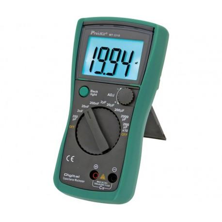 Capacímetro digital PROSKIT MT-5110