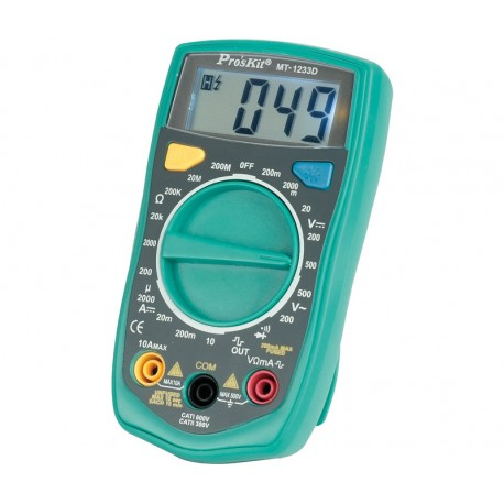 Multímetro digital PROSKIT MT-1233D