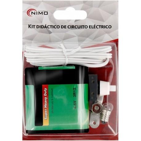 Kit didáctico de circuito eléctrico KPR075