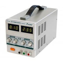 Fuente de alimentación regulable 0-30V/0-5A FAD305