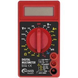 Multímetro digital básico MUL001