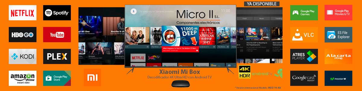 Nuevo producto: Xiaomi Mi Box Android TV